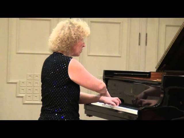 28 04 2011 Recital of Mira Marchenko in the Great Hall of the Central Music School