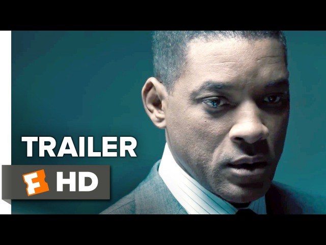 Concussion Official Trailer 2 2015 Will Smith Adewale Akinnuoye Agbaje Drama Movie HD