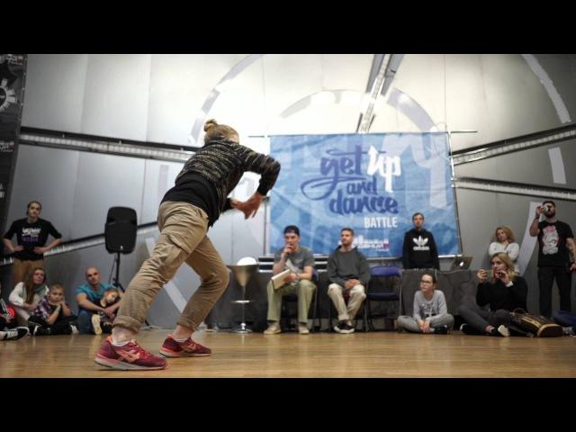 1|8 Карандаш vs Султанов Паша - Get Up and Dance 2016