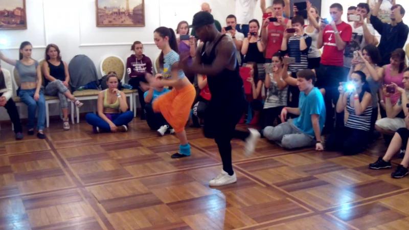 МК Характерные движения в разных танцах сальса рубма и афро