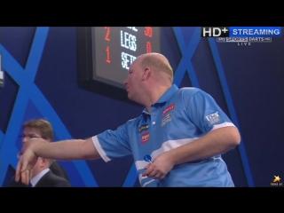 Gary Anderson vs Vincent van der Voort (PDC World Darts Championship 2016 / Round 3)