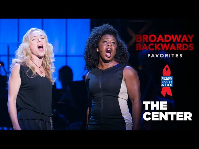Uzo Aduba, Rachel Bay Jones sing Lily's Eyes - Broadway Backwards 2014
