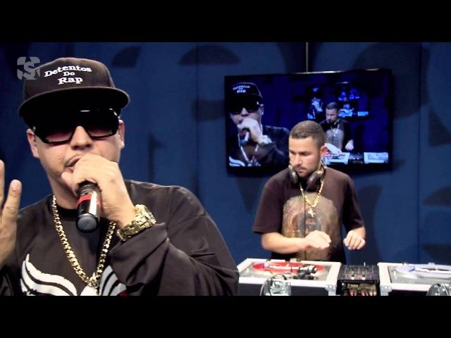 Detentos do Rap em A lâmpada de Aladim no Estúdio Showlivre 2013