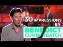 Benedict Cumberbatch's 30 Best Impressions. Prepare to be AMAZED!