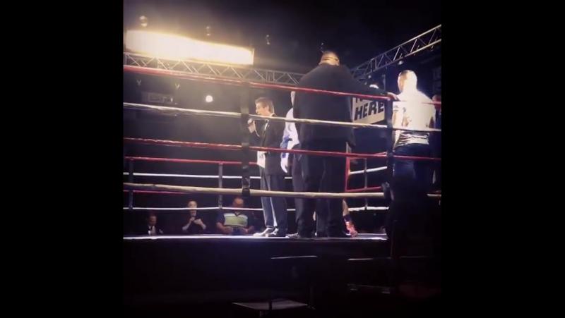 Старт Гогохии в проф-боксе