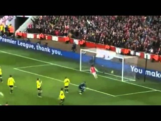 Beautiful Goal Tomas Rosicky - Arsenal vs Sunderland 4 : 1 2014