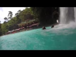 Kawasan waterfalls,cebu,philippines
