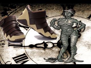 Обнаружили 1500 - летнюю мумию в кроссовках фирмы Адидас