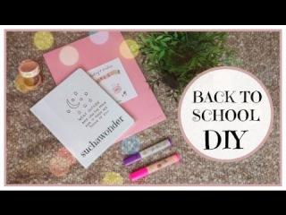 🍂 BACK TO SCHOOL DIY 2016 🍂