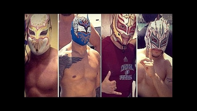 WWE/AAA Myzteziz, Sin Cara, Rey Mysterio and Kalisto Shady 2.0 Boys ft. Showtimeexpres