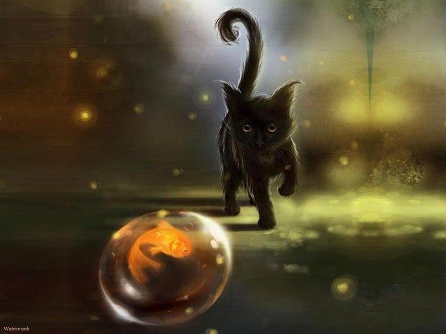 Кошка магическое животное