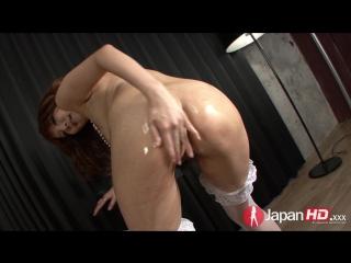 Yuna hirose - dripping with oil (2016)  brunette, cumshot, asian, masturbation, solo, oil, orgasm, finger fucking, hairy, big ti