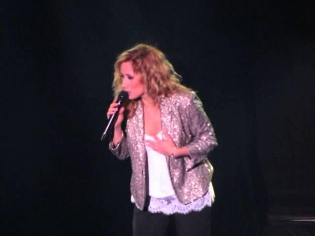 Lara Fabian Abba Medley stadschouwburg Antwerpen 20 3 2016