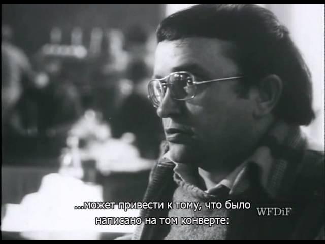 Krzysztof Kieslowski Говорящие головы rus sub русские субтитры