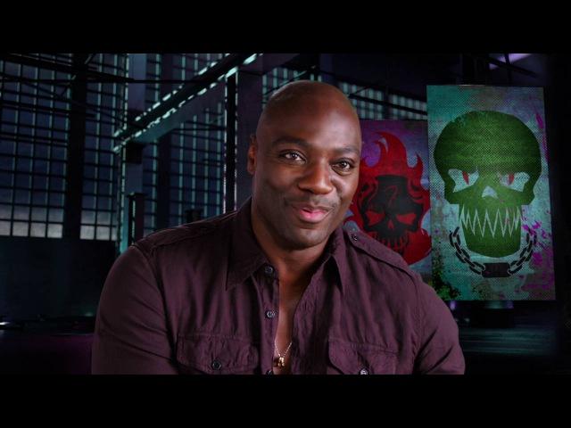 Suicide Squad Adewale Akinnuoye Agbaje Killer Croc Behind the Scenes Movie Interview