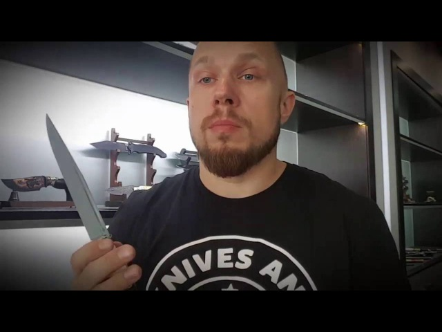 Бруталика в гостях охотничьи ножи Калибр из М 390