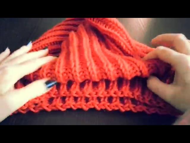Модная АНГЛИЙСКАЯ резинка (ПОЛУАНГЛИЙСКАЯ) спицами. Современное вязание.