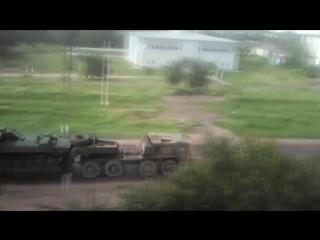 передвижение колонны техники в сумской области
