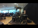 The drum clinic by FROST from Satyricon 1349
