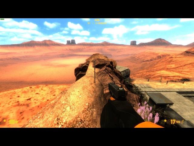 Black Mesa - dm_crossfire [Glitch] by Fabler