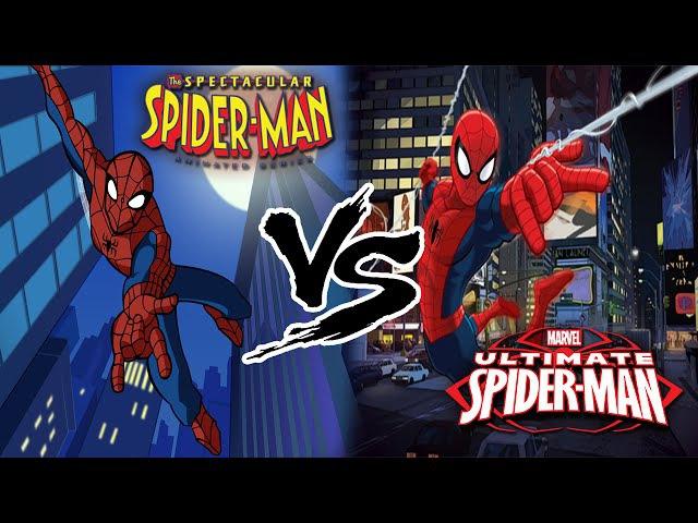 СРАВНЕНИЕ Грандиозный Человек Паук vs Совершенный Человек Паук