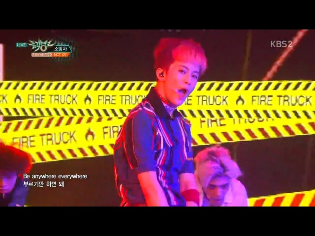 NCT 127 엔시티 127 Debut Stage '소방차 (Fire Truck)' KBS MUSIC BANK 2016.07.08