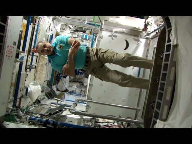 Год на орбите Космический кросс Фильм 8 A Year In Space Workout In Space