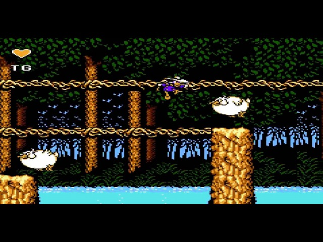Darkwing Duck Nestopia NO DEATH RUN by Azatron Default Weapon