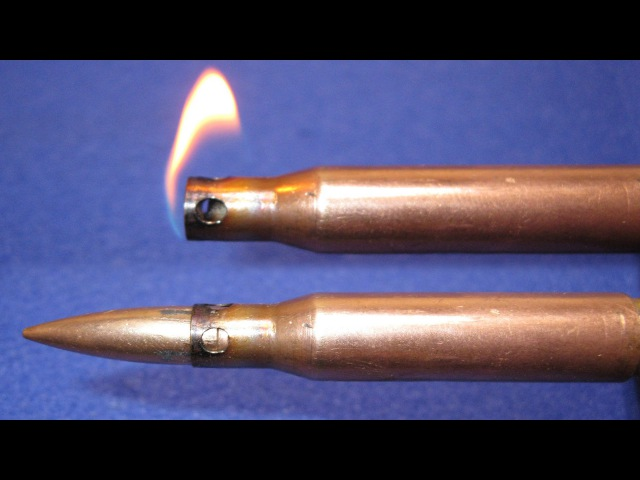 Зажигалка 7 62мм из 2х гильз