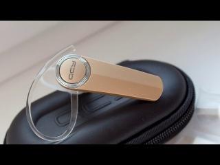 Недорогая bluetooth-гарнитура QCY Q8 с богатой комплектацией. Распаковка и обзор.