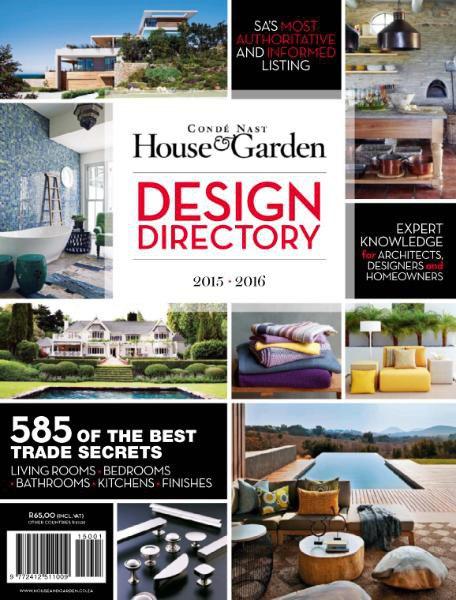 Condé Nast House & Garden - Design Directory 2015-2016