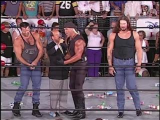 Hollywood Hogan, Interview at WCW Monday Nitro 15.07.1996
