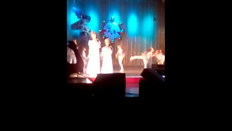 ДКШ танец Маленькая балерина апрель 2016