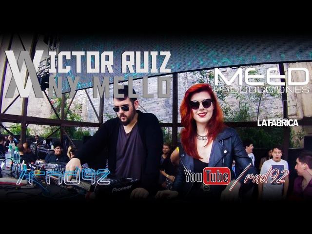 Victor Ruiz AV Any Mello [4hs Set] @ La Fabrica, Cordoba, Argentina (13.12.2014) [Parte1]