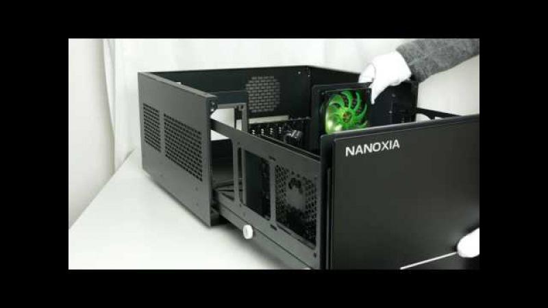 Ausgepackt angefasst 4K Premium Schubladengehäuse Nanoxia Project S