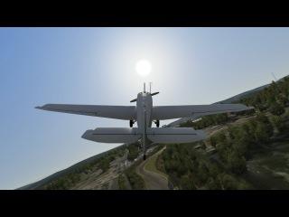 Assetto Corsa - Flight simulator ? Flight over Nordschleife