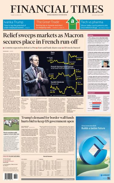 Financial Times USA 25 April 2017 FreeMags