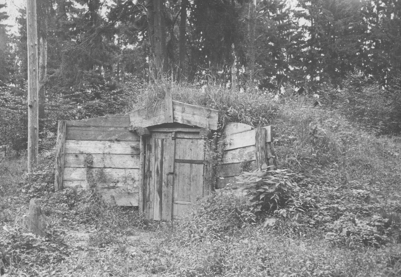 Овощехранилище дома отдыха
