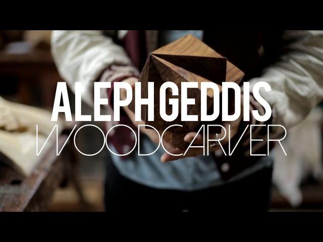 Aleph Geddis Woodcarver
