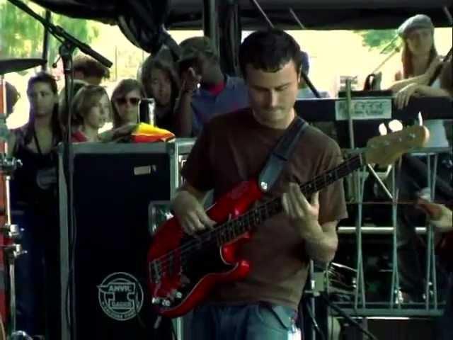 Glassjaw Ape Dos Mil Live in Vans Warped Tour USA 2003
