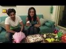 Exclusive : Beautiful Sanaya Irani Celebrating Her Birthday With Husband Mohit Entertainment Tadka
