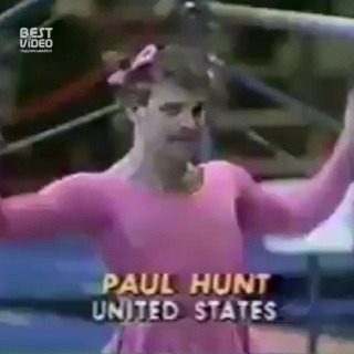 Пол Хант - Гимнаст с юмором