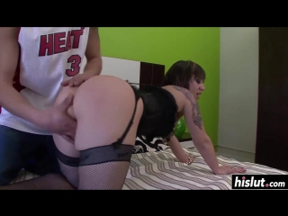 Threesome with dunia montenegro and lunae yin hd - big ass butts booty tits boobs bbw pawg curvy mature milf stockings