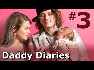 Ben Bruce Daddy Diaries Ep 03 - Asking Alexandria 10 Years In The Black Tour Prep