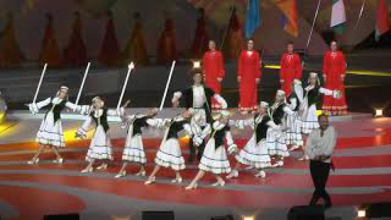 Кыргызстан - Открытие I фестиваля национальных видов спорта СНГ г. Ульяновск 2017