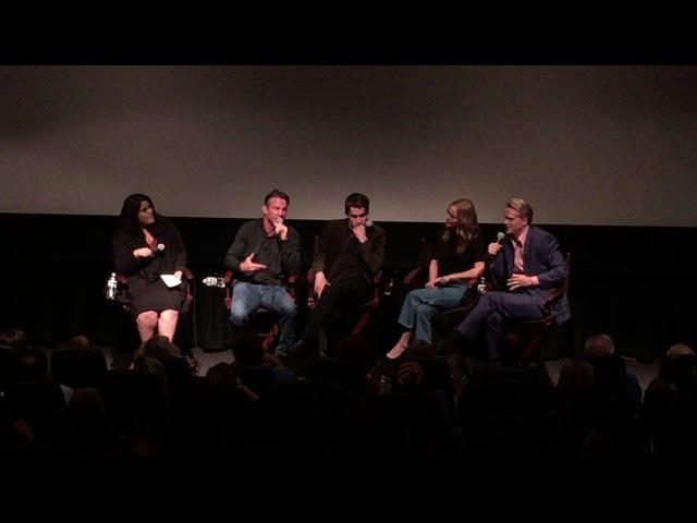 Кейт на пресс конференции с актерами и создателями сериала Больше чем искусство 26 10 2016