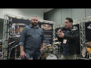 Pearl MasterWorks Series at Winter NAMM 2017