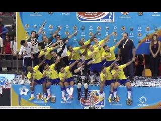 #CopaAmericafutsal La final Argentina vs Brasil