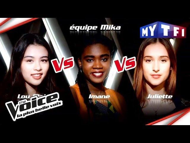Lou Mai VS Imane VS Juliette The Voice France 2017 Epreuve Ultime