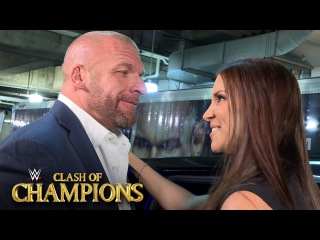 Stephanie McMahon leaves WWE Clash of Champions with husband Triple H: Sept. 25, 2016